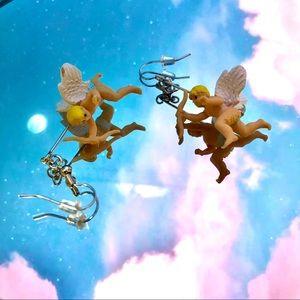 Angel / Cupid earrings
